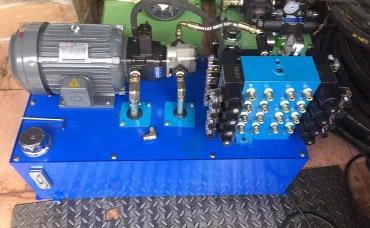 Hydraulic station production