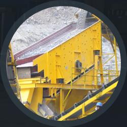 The mine machinery
