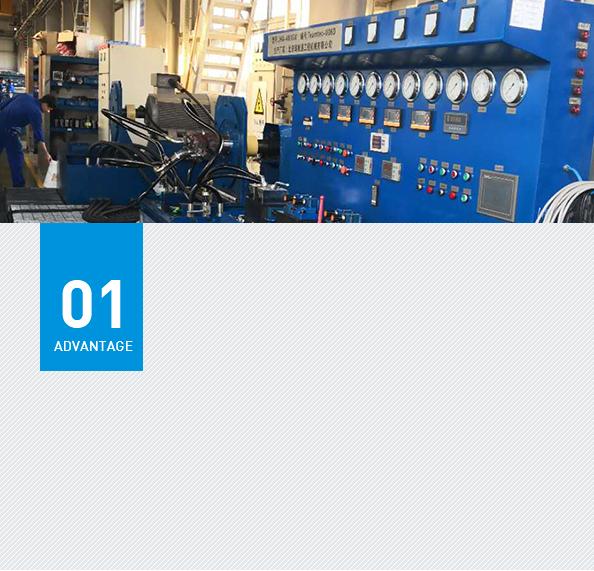 High-end hydraulic testing equipment