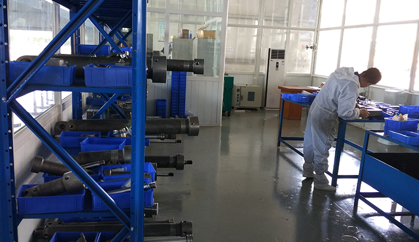 Cylinder production inspection service